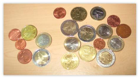 extra Euros lying around