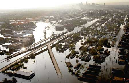 The Destruction of Hurricane Katrina in New Orleans