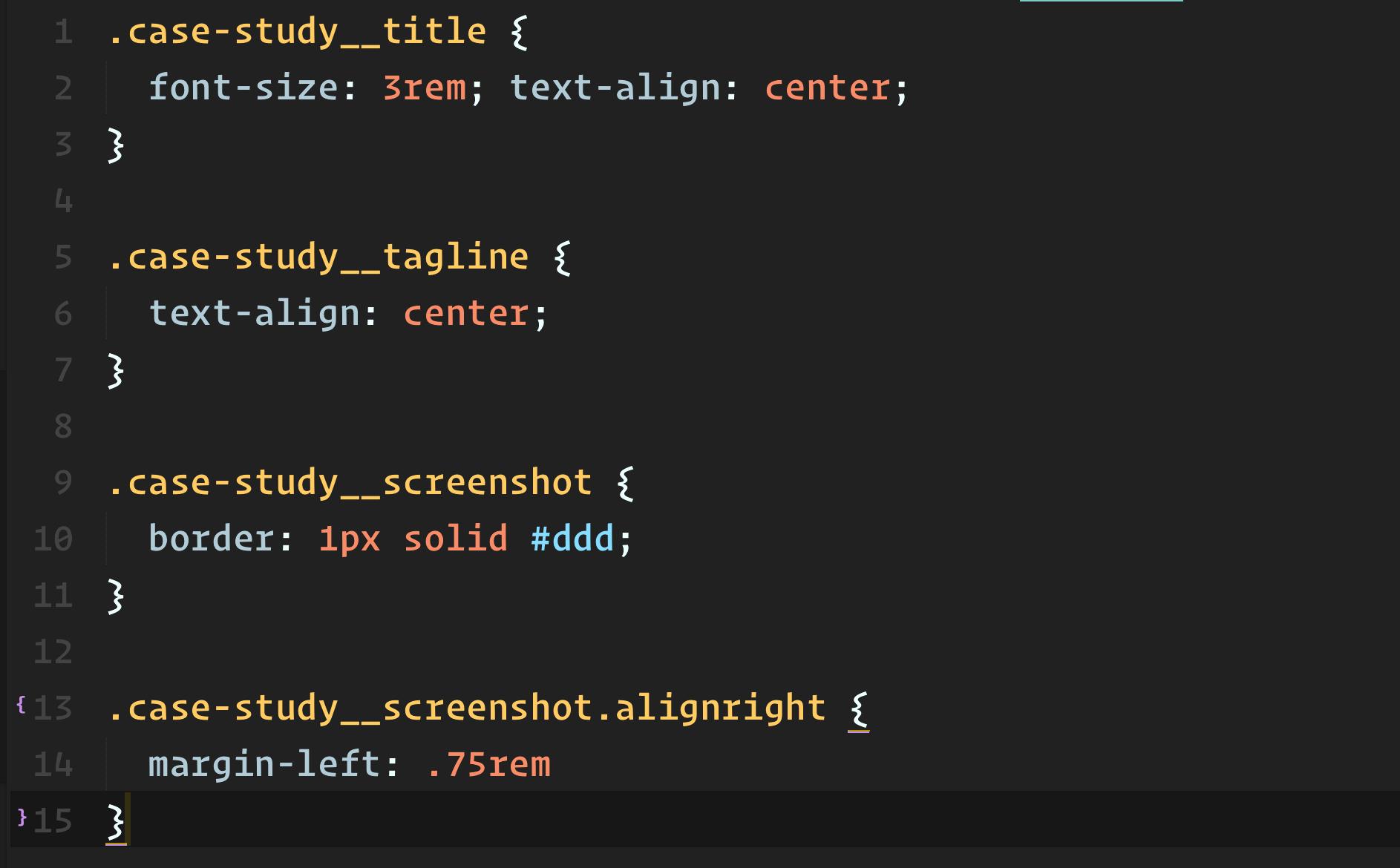 Scoped CSS